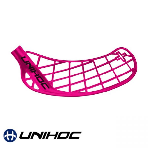 Floorball Unihoc Player+ Kelle pink