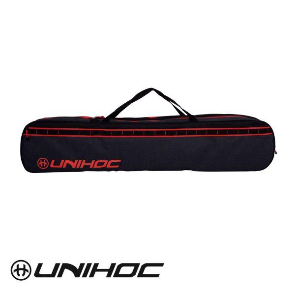 Unihoc Toolbag TACTIC Senior schwarz/rot