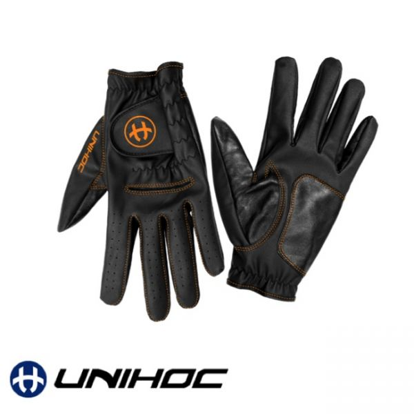 Floorball Handschuhe Goalie gloves FLOW black