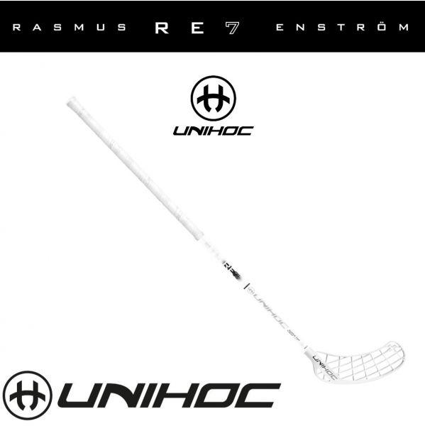 Unihoc PLAYER+ RE7 SuperTopLight 27 weiß