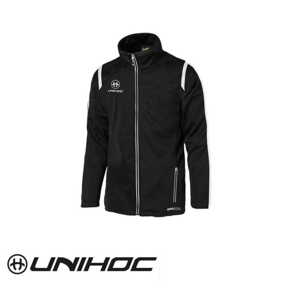 Unihoc Trainingsanzugsjacke SANTIAGO schwarz