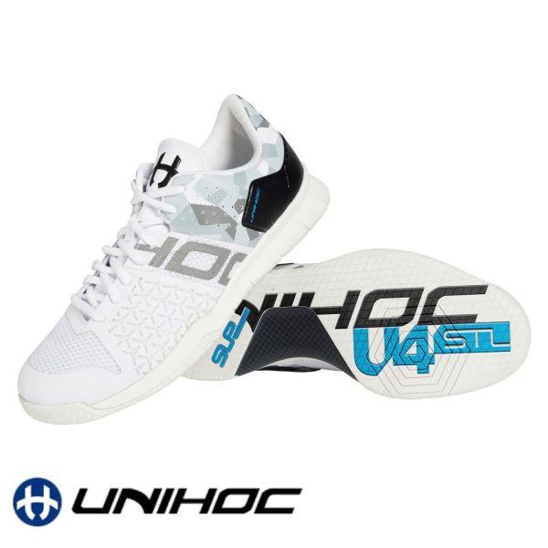 Unihoc Schuh U4 STL LowCut weiß