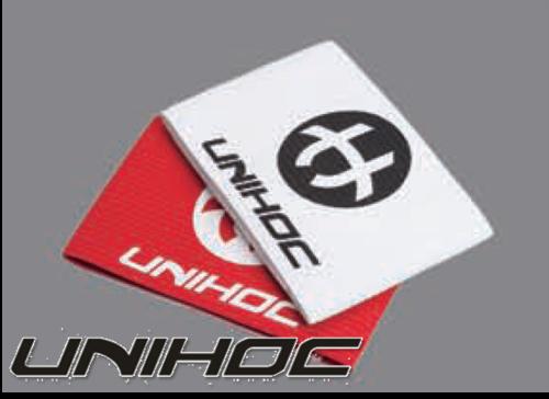 Unihoc Kapitänsbinde BADGE weiß