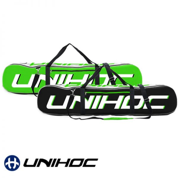 Floorball Unihoc Toolbag ULTRA Senior schwarz/grün