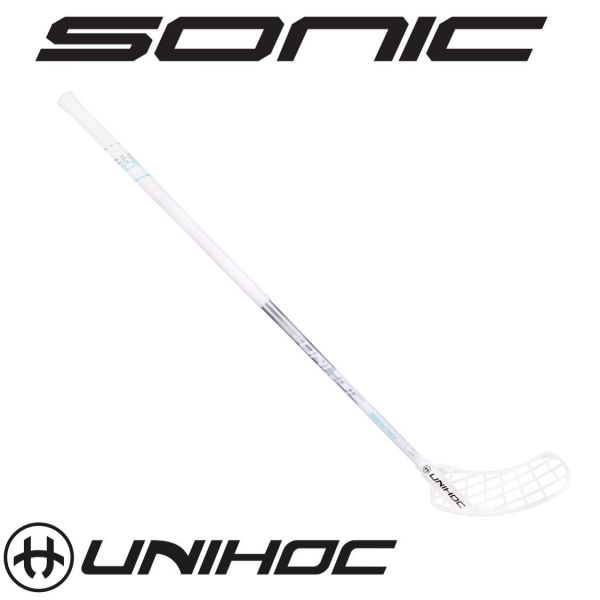 Unihoc SONIC SuperTopLight 26 Weiß/Silber