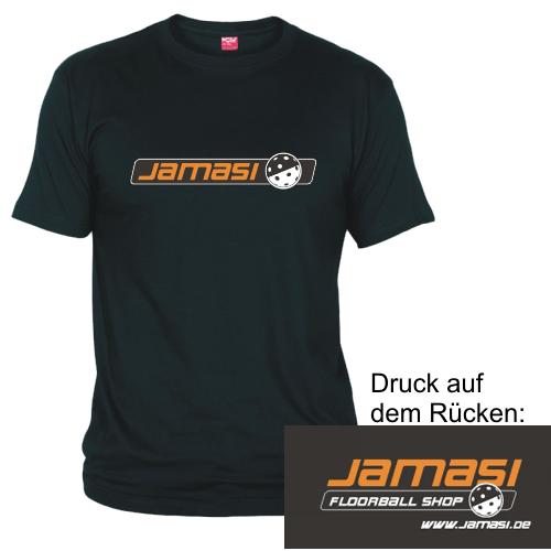 JAMASI T-Shirt Classic schwarz