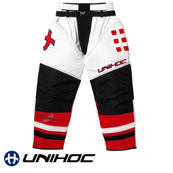 Unihoc FEATHER TW-Hose weiß/rot