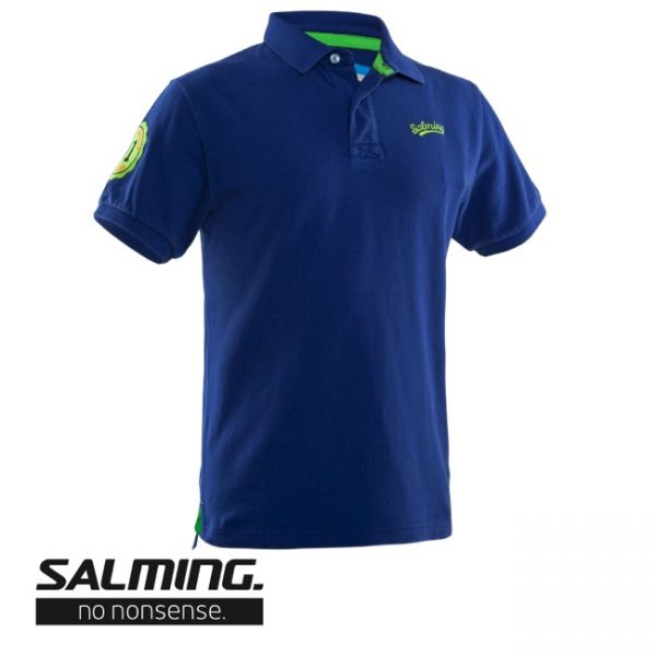 Salming Poloshirt ORIGINAL Blau