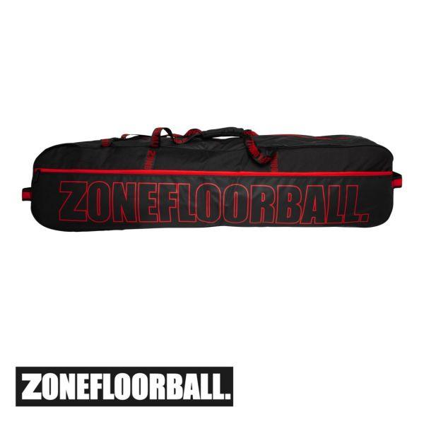 Zone Toolbag BRILLIANT schwarz/rot Edt. (20 Schläger)