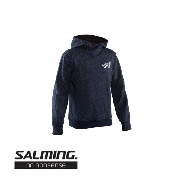 Salming Pullover SOLID HOOD blau