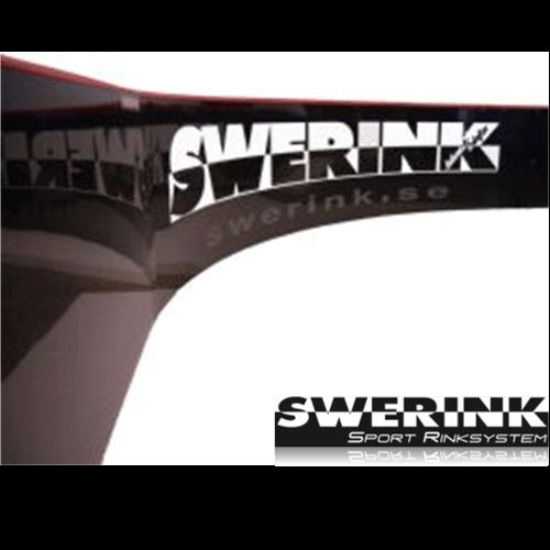 Swerink Bande ELITE Kleinfeld (29 x 17 m) schwarz