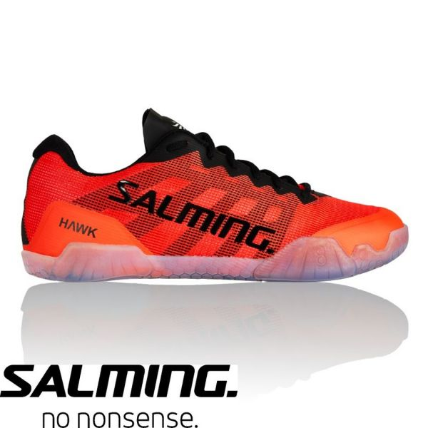 Salming Schuh HAWK Schwarz/Rot