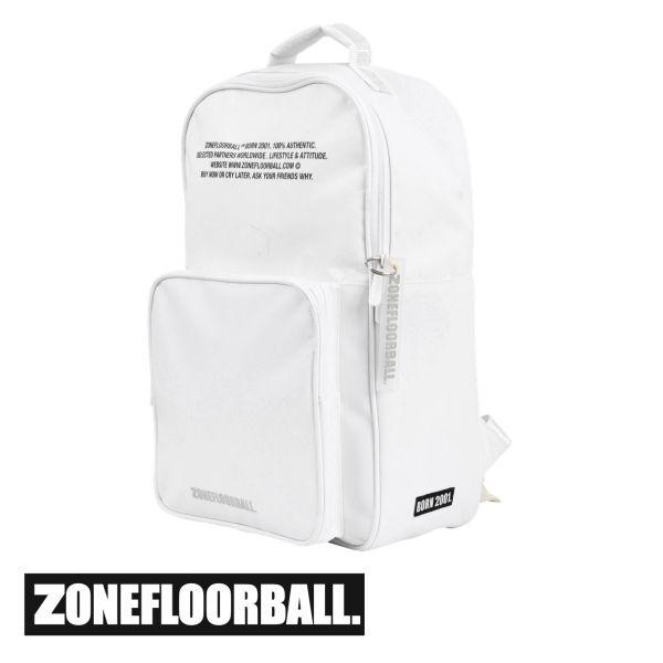 Zone Rucksack BRILLIANT+ weiß/silber