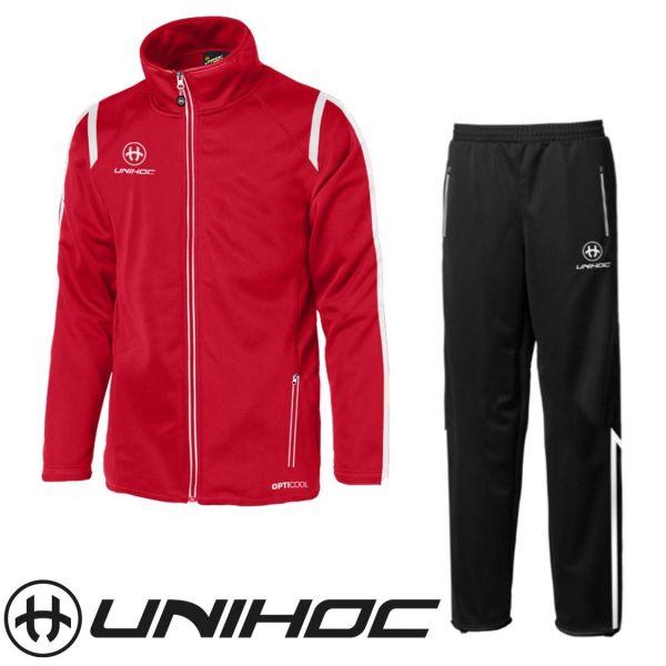 Unihoc Trainingsanzug SANTIAGO rot