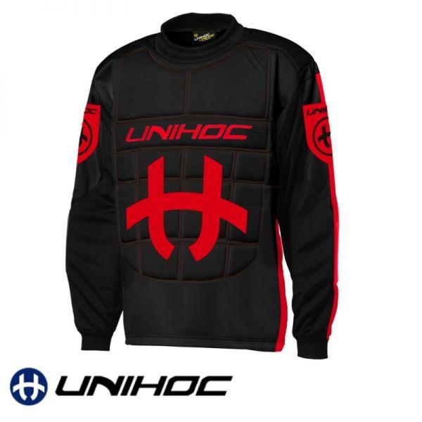 Unihoc SHIELD TW-Pullover Schwarz/Rot