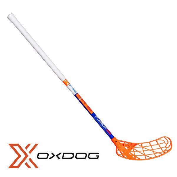 Floorball Schläger für Kinder - Oxdog AVOX Fusion 32 weiß/blau