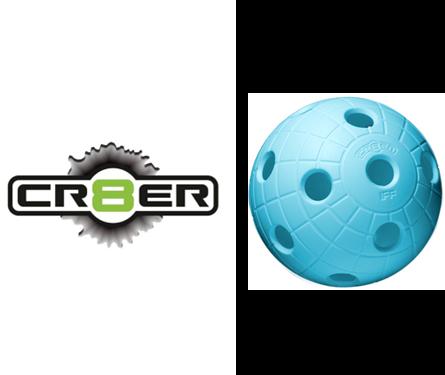 Offizieller WM-Floorball Reactor CR8TER türkis