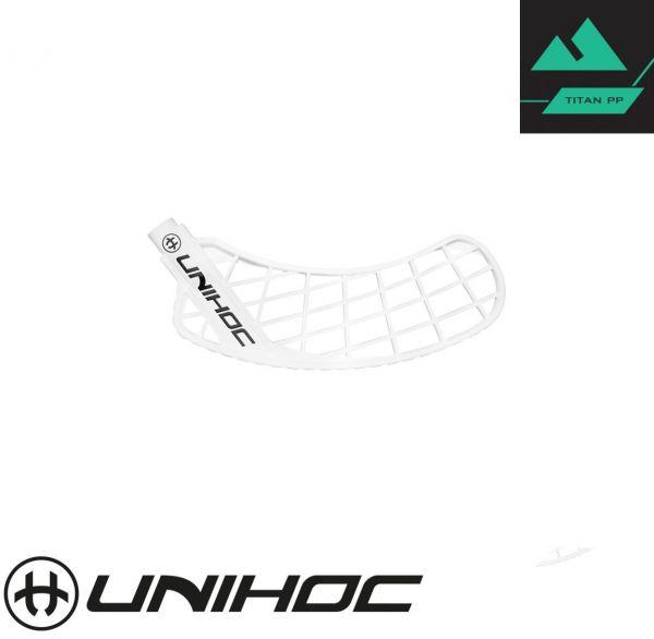 Unihoc SONIC TITAN Hart weiß