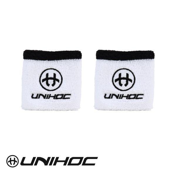 Unihoc Schweißband SWEAT (2er Pack) weiß