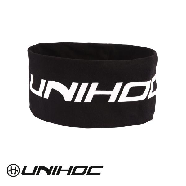 Unihoc Stirnband TOOL breit schwarz