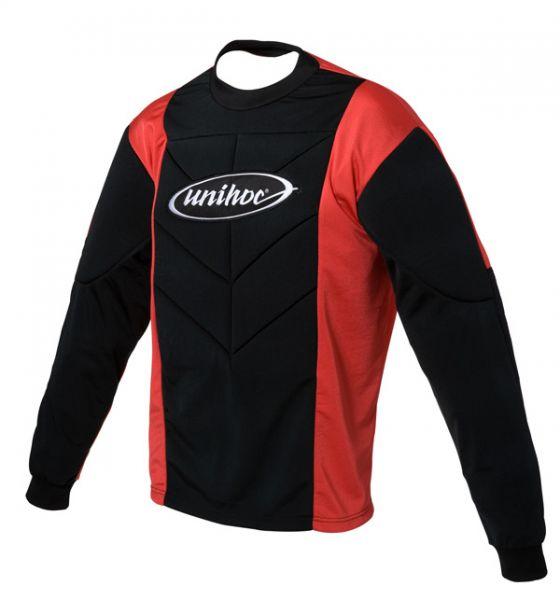Unihoc TW-Pulover CLASSIC Junior schwarz/rot