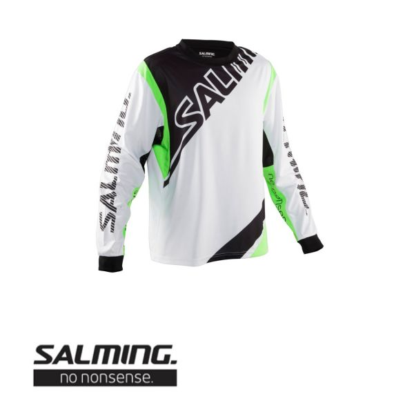 Salming PHOENIX TW-Pullover Weiß/Grün