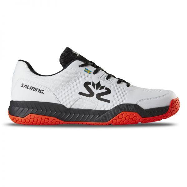 Salming Schuh HAWK COURT weiß/schwarz