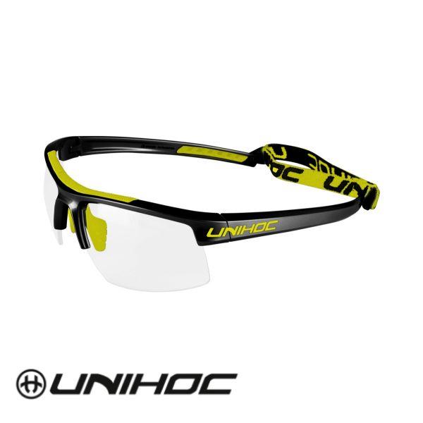 Unihoc Glasses ENERGY Kids black/yellow