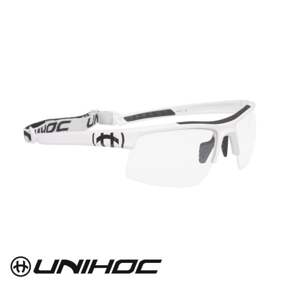Unihoc Sportbrille ENGERY Junior weiß