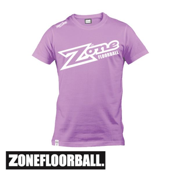 Zone T-Shirt TEAMWEAR Lila