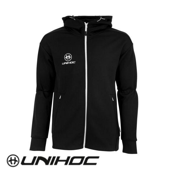 Unihoc Hoodie TECHNIC Schwarz