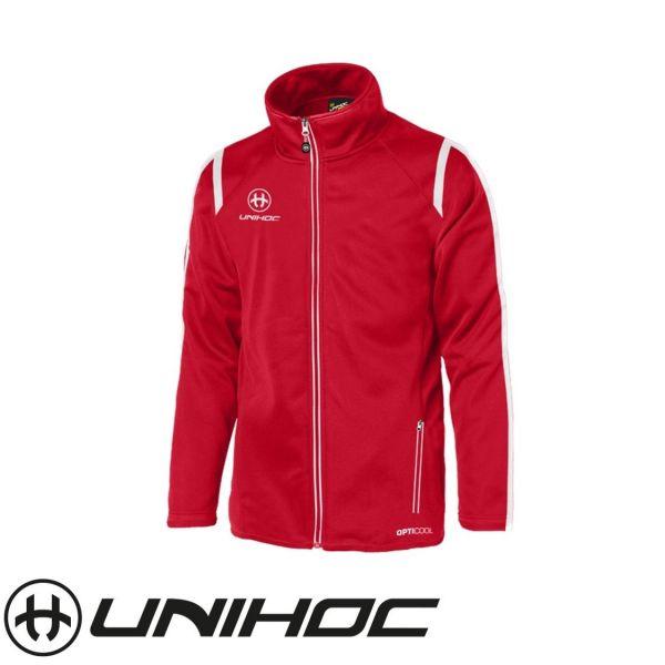 Unihoc Trainingsanzugsjacke SANTIAGO rot