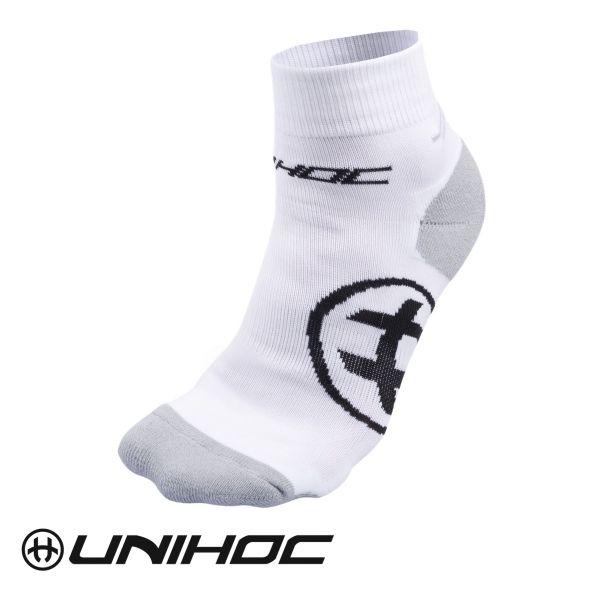 Unihoc Socken SPRINT weiß
