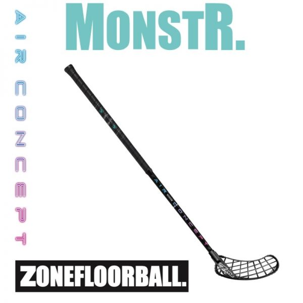 Floorball Stick - Zone MONSTR AIR Airlight 25 schwarz