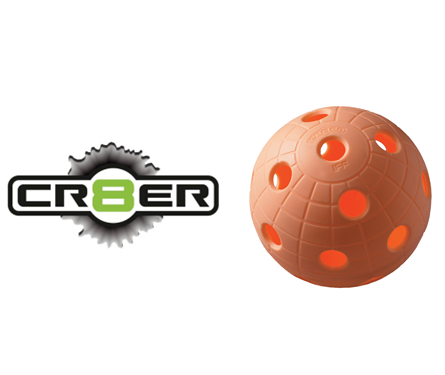 Offizieller WM-Floorball Reactor CR8TER orange