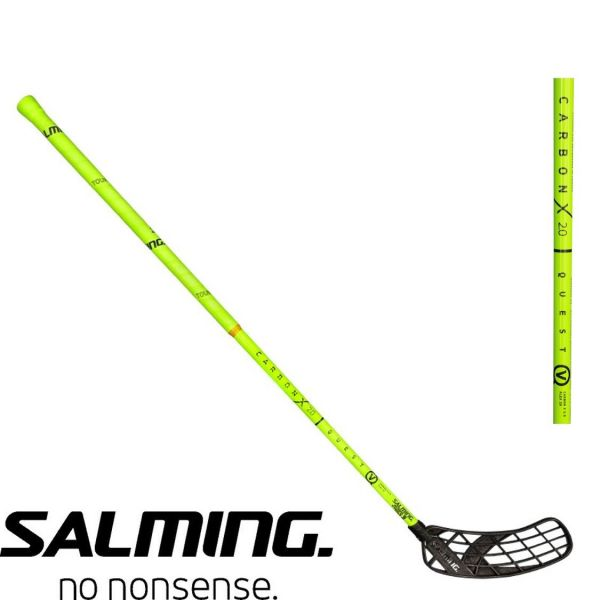Salming QUEST 5 Carbon X 2.0 29 Gelb