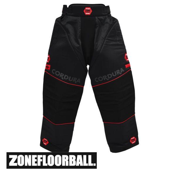 Zone Torwart-Hose PRO schwarz/rot