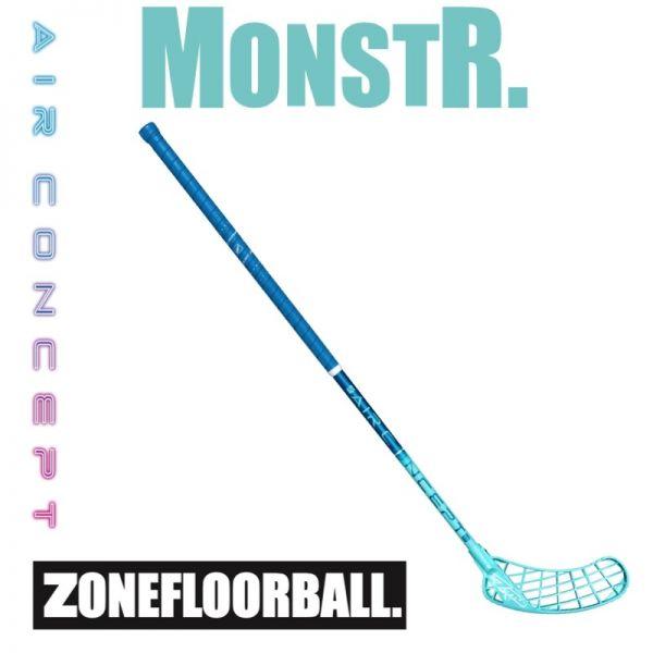 Floorball Schläger - Zone MONSTR AIR Superlight 27 blau/türkis