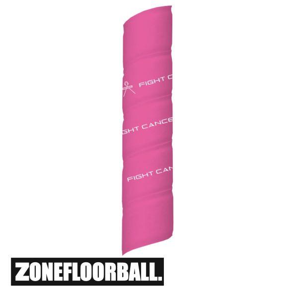 Floorball Schläger Griffband - Zone Fight Cancer pink