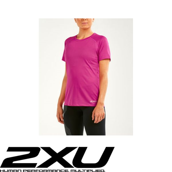 2XU X-VENT Shortsleeve Lady neon pink