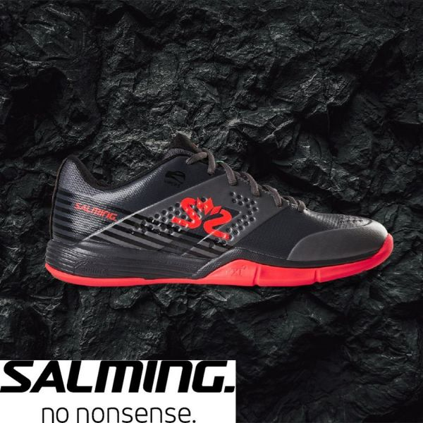 Salming Schuh VIPER 5 Grau/Rot