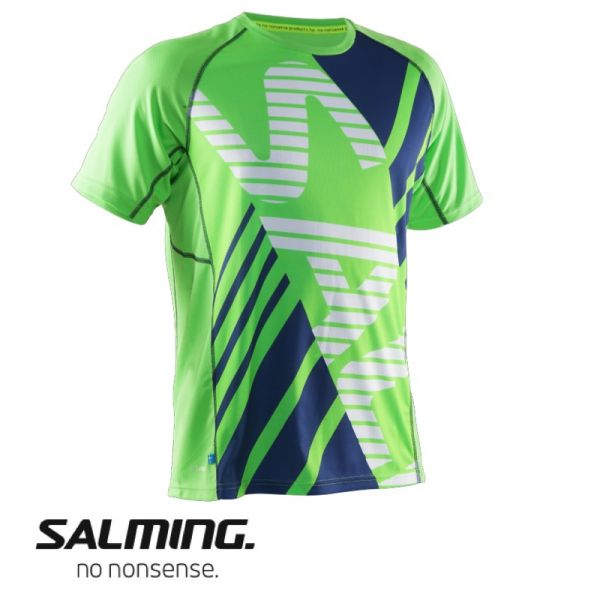 Salming Running Tee Men lizard grün