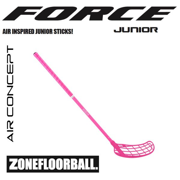 Zone FORCE AIR JR 35 pink
