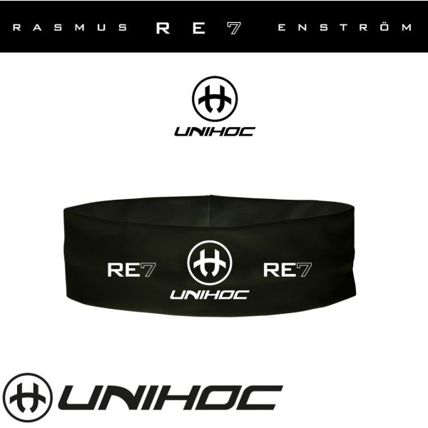 Unihoc Stirnband RE7 schwarz