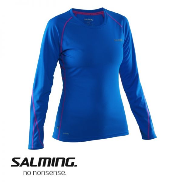 Salming Running LongSleeve Top Women blau